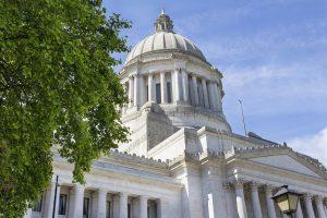Image: Washington State Capitol Building in Olympia, Washington